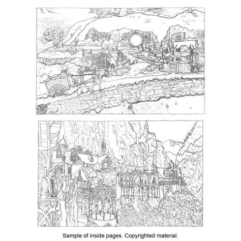 lord of the rings coloring book lord of the rings coloring book coloring pages