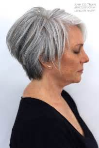 grey hairstyles for thick hair 17 best ideas about short gray hair on pinterest short