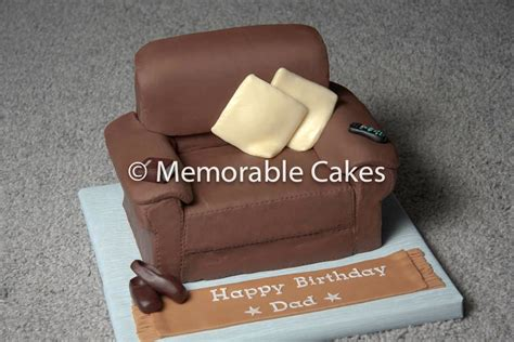 Make An Armchair Design Ideas Armchair Birthday Cake Fully Edible Armchair Cake Flickr
