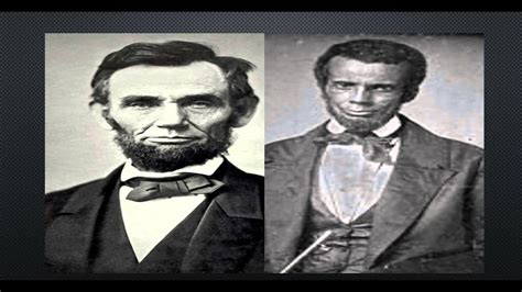 abraham lincoln was black