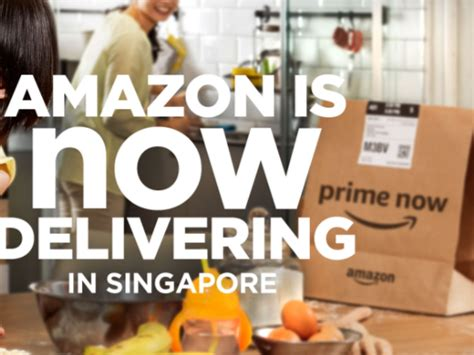 amazon singapore amazon prime now arrives late in competitive singapore