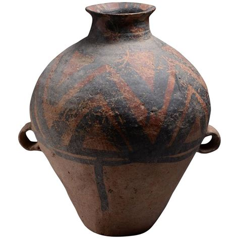 Yangshao Culture Vases by Ancient Neolithic Yangshao Culture Pottery Hora