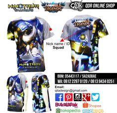 Kaos Taurus kaos mobile legend hayabusa distro custom apparel