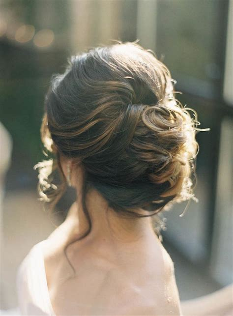 wedding hair inspiration 12 gorgeous low buns - Wedding Hair Up Buns