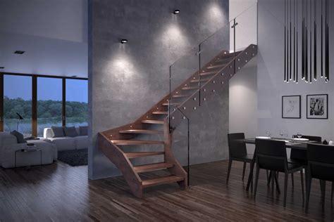 ingombro scala interna scala interna in legno e vetro visio di rintal porte