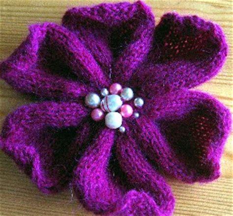 flower design knitting pattern knitting flower patterns browse patterns