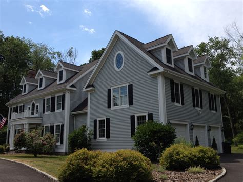 blue gray exterior paint change of color in wilton ct mdf painting
