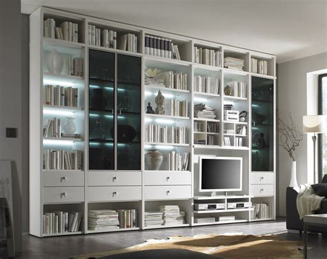 bibliothek m bel ikea fernseher regal wand wohnwand studio 515 wohnw 228 nde