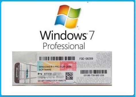 Coa Licence Lisensi Key Windows 7 Profesional Original Murah microsoft windows 7 product key code win7 professional