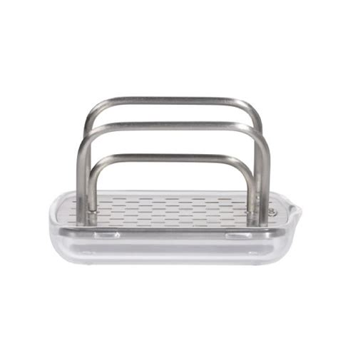 oxo good grips stainless steel sponge holder 885587550465