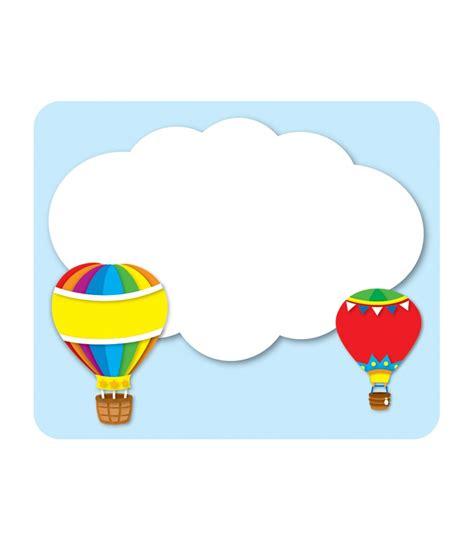 air tags air balloons name tags carson dellosa publishing