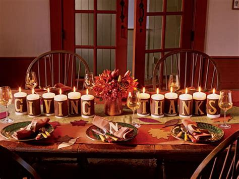 Thanksgiving Table Decorations by New Board Thanksgiving Decor Ideas