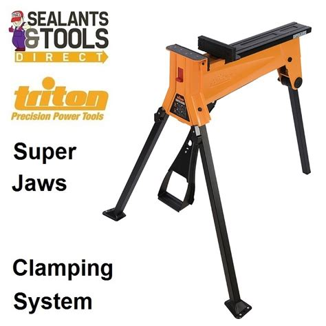 Triton Superjaws Portable Clamping Vice System Sja100e