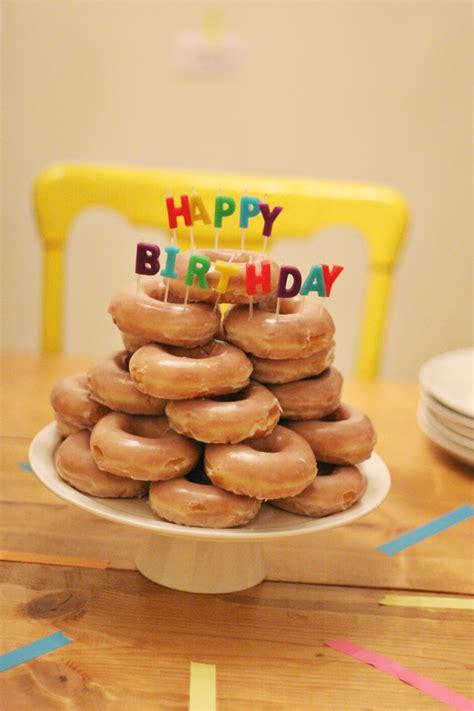 Happy Birthday Doughnuts by Birthday Donuts Flickr Photo