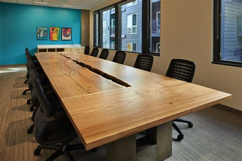 wood conference table reclaimed wood conference table tables meyer