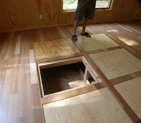 floor storage in floor storage for a tiny house great idea compact
