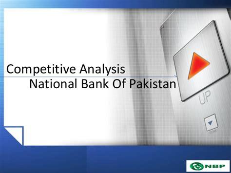 national bank of pakistan national bank of pakistan strategic management