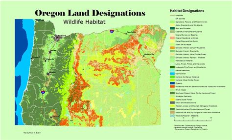 map of oregon landforms 2012 projects friedle