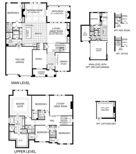 floor plan of a room 100 2 story great room floor plans log style house