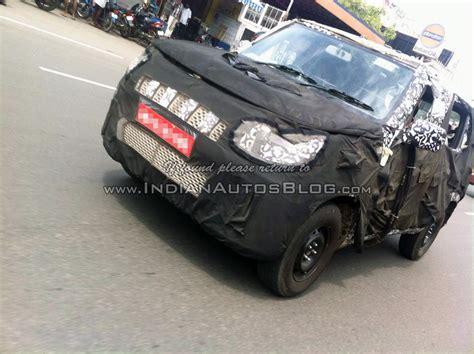 mahindra bolero top model 2014 spied upcoming mahindra bolero u301 testing in