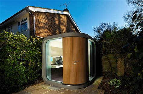 Backyard Office Pod by Officepod And Meetingpod Working At Home Has Never Been