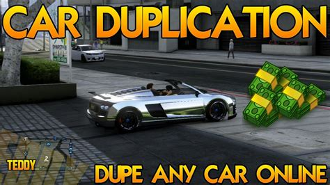 GTA 5 Car Duplication Glitch In GTA 5 Online   YouTube