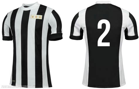 Jersey Juventus Home Retro Juve Anniversary 120th 2017 2018 Grade Ori juventus 120th anniversary adidas home jersey football fashion org