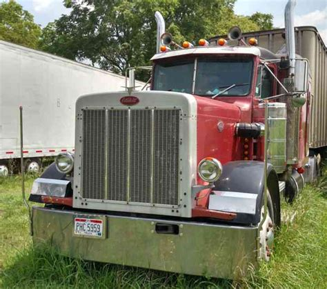 peterbilt 379 1981 sleeper semi trucks