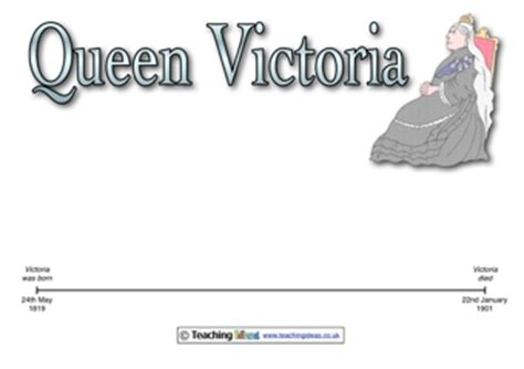 biography of queen victoria ks2 queen victoria timeline teaching ideas