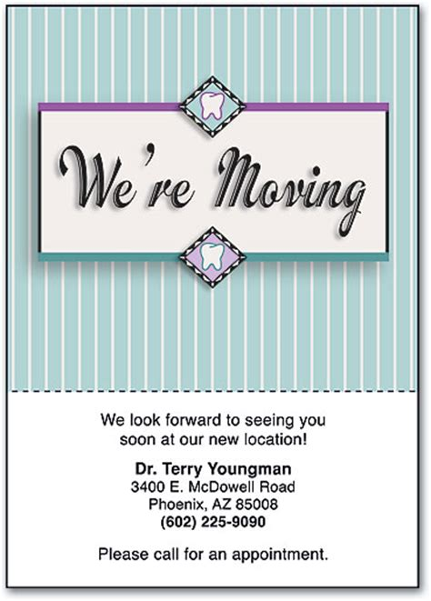 we moved cards template best sle we are moving postcards announcement business