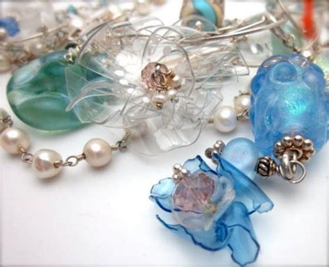 plastic bottle jewelry 1000 images about recycled containers other upcycled