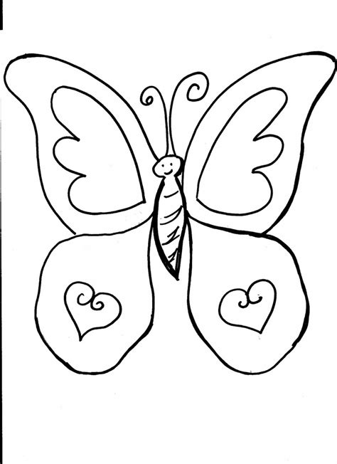 Coloring Page Printable by Free Printable Butterfly Coloring Pages For