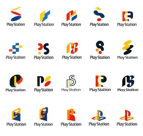 ideas logo sony playstation 1 logo design ideas and concepts
