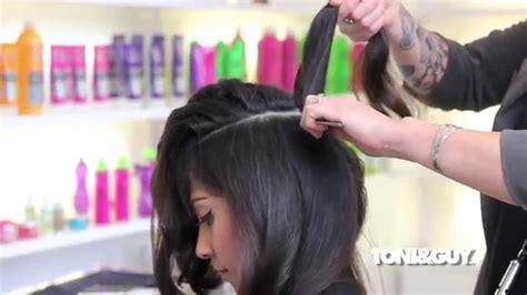 toni guy haircuts youtube blow dry technique voluminous sexy curls youtube