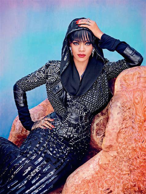 In Harpers Bazaar by Rihanna S Bazaar Arabia Photoshoot By Ruven