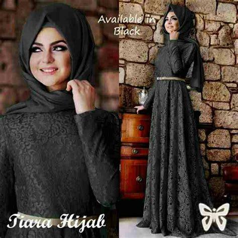 Longdress Zaraa Baju Wanita Bagus Murah baju muslim brukat cantik modern model terbaru murah