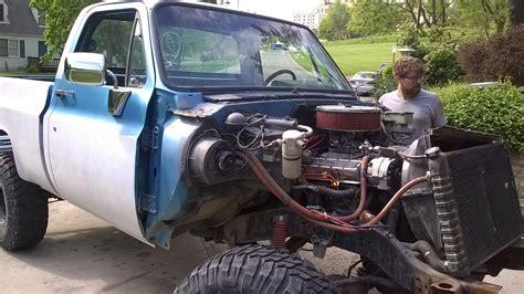 Chevy K10 Truck Restoration Phase 3 Front Clip Swap Dan 183 Nix