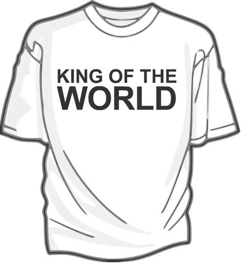 one t draw ruler of the universe the self help t shirt
