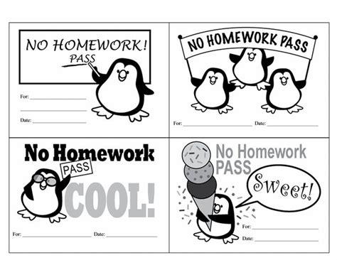 printable free homework pass pin by karen hathaway on referrals homework passes