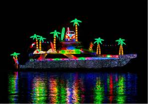 newport local news boaters have designs on christmas boat