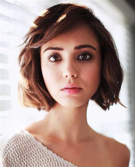 bobs with shorter sides womens haircuts pretty short bob hairstyles with side swept bangs bob