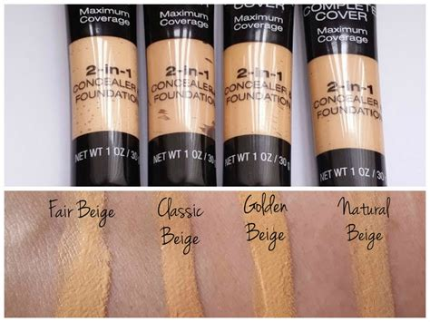 Jordana Complete Cover 2 In 1 Concealer Foundation cdel jordana s new products for 2015 review