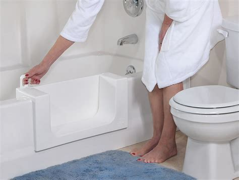 bathtub with door for seniors green solutions remodeling