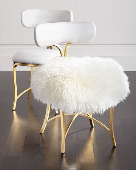 sheepskin covers for recliner chairs cynthia rowley for hooker furniture swanson sheepskin side