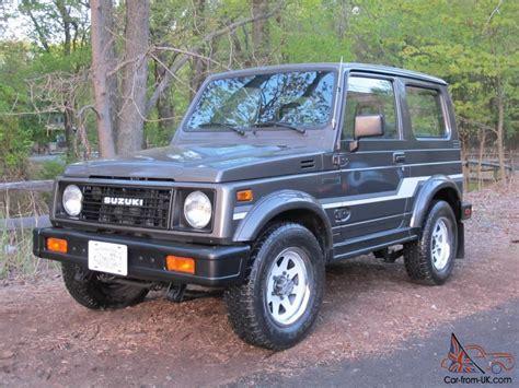 1986 Suzuki Samurai Specs 1986 Suzuki Samurai 59 794 Original Factory A C