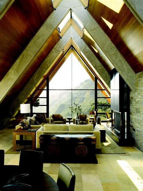 a frame home interiors interior of a modern a frame house architecture the a
