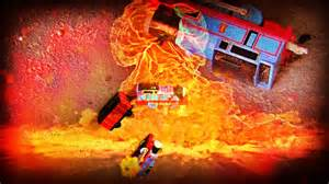 Thomas the tank engine accidents can happen with explosion