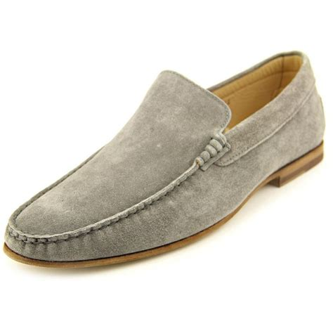 mens suede loafers gordon rowan suede gray loafer loafers