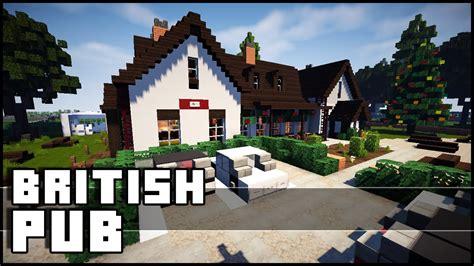 House Plans Cottage minecraft british pub youtube
