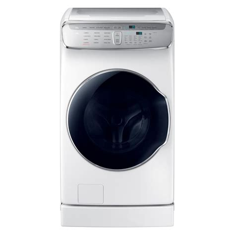 samsung 6 0 cu ft high efficiency flexwash washer in